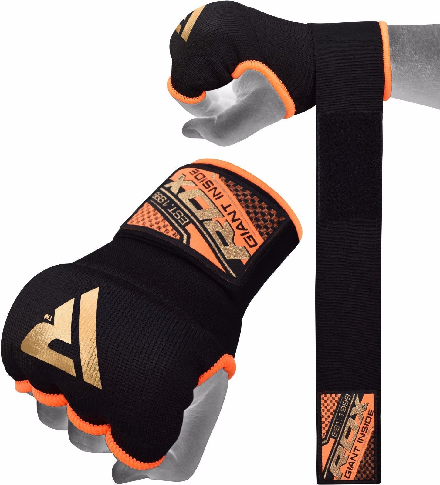 Fitness Inner Gloves: B2fitness: RDX MMA Boxing Hand Wraps Inner Gloves Fist