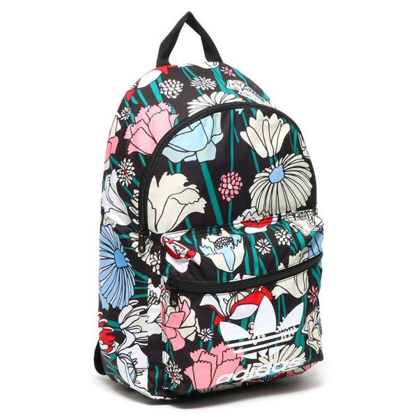 ADIDAS CLASSIC BP 背包 後背包 雙肩 三葉草 花卉 防水 光滑 彩色 【運動世界】AY9345