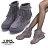 ★399免運★格子舖*【KS1901】羅馬風時尚質感麂皮流蘇 3CM隱形內增高 拉鍊穿拖 短筒靴 短靴 2色 0