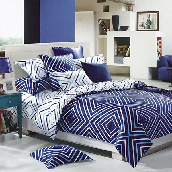 米洛菲活性純棉兩用被床包四件組