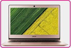 ACER 宏碁 Swift 1 SF113-31-C380 13.3吋 七代粉色筆電 N3450四核/13.3吋FHD/4G/eMMC128G/Win 10