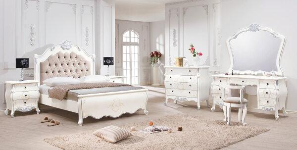 【尚品家具】HY-A19-01凡爾賽法式5尺床台~另有6尺