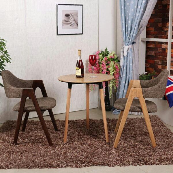 !新生活家具!洽談桌木紋《歐瑞》DSW伊姆斯餐桌寫字桌餐桌圓桌北歐風簡約典雅書桌