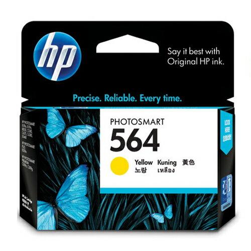 【HP 墨水匣】HP CB320WA NO.564 黃色原廠墨水匣