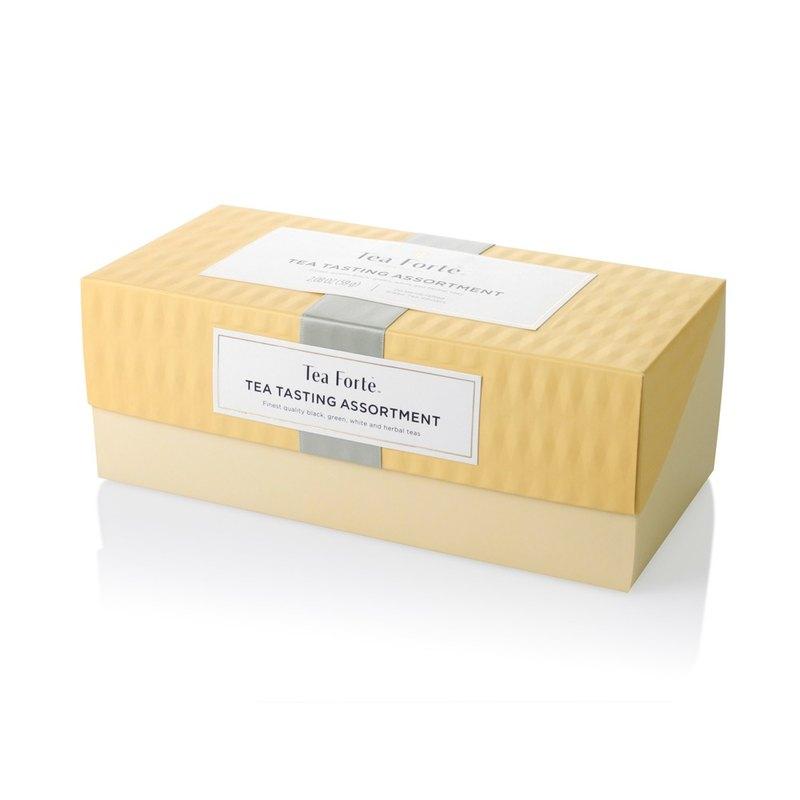 Tea Forte 20入金字塔型絲質茶包 - 饗茶集錦 Presentation Box - Tea Tasting Assortment 0