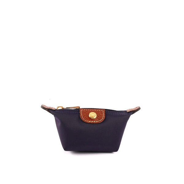 【LONGCHAMP】小零錢包(深紫色)3693089645