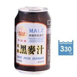 崇德發 天然黑麥汁易開罐 330mlx6瓶
