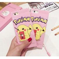 Pokemon:精靈寶可夢到Pokemon 餅乾糖果包裝皮卡丘手機保護殼 Apple iPhone 6S/6S Plus 神奇寶貝 精靈寶可夢