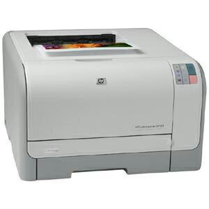 HP LaserJet CP1000 CP1215 Laser Printer - Color - 600 x 600 dpi Print - Photo Print - Desktop - 12 ppm Mono / 8 ppm Color Print - Letter, Legal, Executive, Envelope No. 10, Monarch Envelope, Custom Size - 150 sheets Standard Input Capacity - 25000 Duty Cy 4
