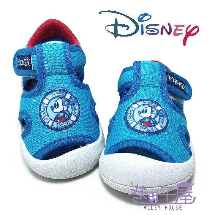 迪士尼DISNEY 童款米奇漫畫版護趾涼鞋 [119303] 藍 MIT台灣製造【巷子屋】