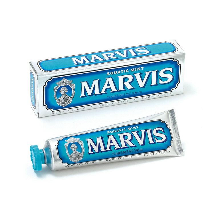 【MARVIS】海洋薄荷牙膏(藍色)75ml