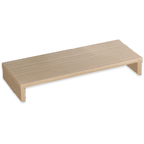 《Hopma》橡木色多功能螢幕桌上架