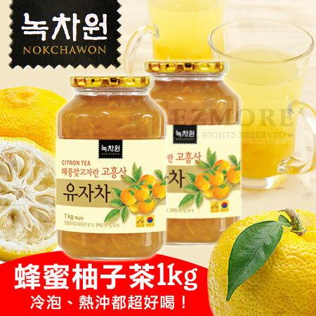 韓國 Nokchawon 綠茶園 蜂蜜柚子茶 1kg 蜂蜜柚子茶 柚子茶 1000g 沖泡飲品【N101832】