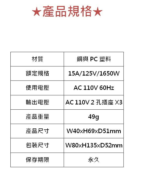 插座 耐嘉 KINYO 節電1開3插分接器 含發票 MR-35 插座 插頭 分接器 居家電 節電 3