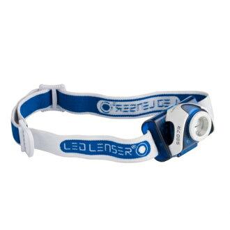 ├登山樂┤LED LENSER 6107-R SEO7R 可充電式LED頭燈 220流明 藍 #6107-R