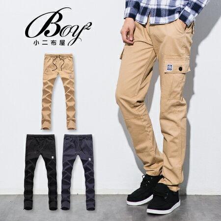 ☆BOY-2☆【NQ95043】工作褲 美式潮流側口袋休閒褲 0