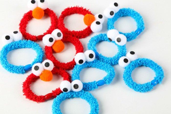 =優生活=日本原宿芝麻街Sesame Streetaimo艾摩ELMO髮飾 頭繩 手飾