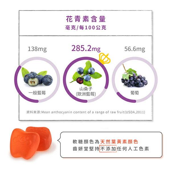 【無糖QQ糖3入組】齒妍堂 健齒QQ糖 草莓 / 乳酸多多 / 葡萄口味 無糖零熱量 9