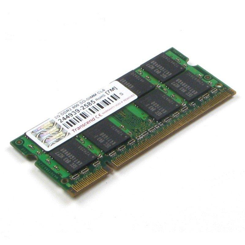 *╯新風尚潮流╭*創見筆記型 2G DDR2-800 公司貨 終身保固 TS256MSQ64V8U