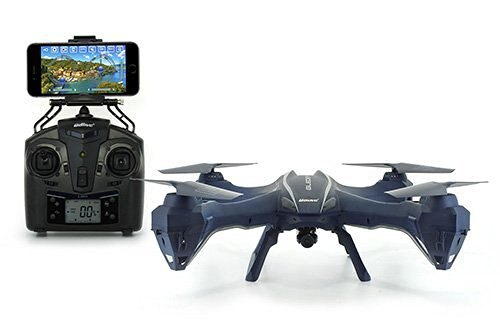 UDI U842 WiFi FPV Quadcopter Drone with HD Camera - First Person View and VR Live Streaming - Blue 2
