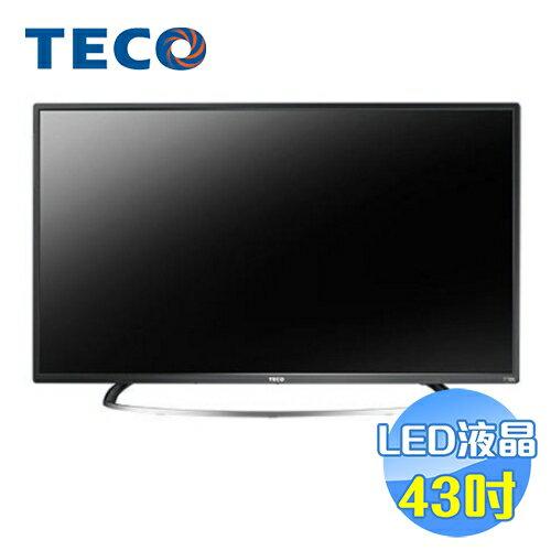 東元 TECO 43吋液晶顯示器 TL43A1TRE