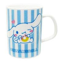 愚人節 KUSO療癒整人玩具周邊商品推薦日本製 三麗鷗 Sanrio 大耳狗 陶瓷 馬克杯 水杯咖啡杯茶杯 藍色甜甜圈愛心  日本進口正版 303523