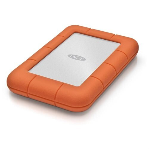 LaCie Rugged Mini 1TB USB 3.0 Portable Hard Drive 0