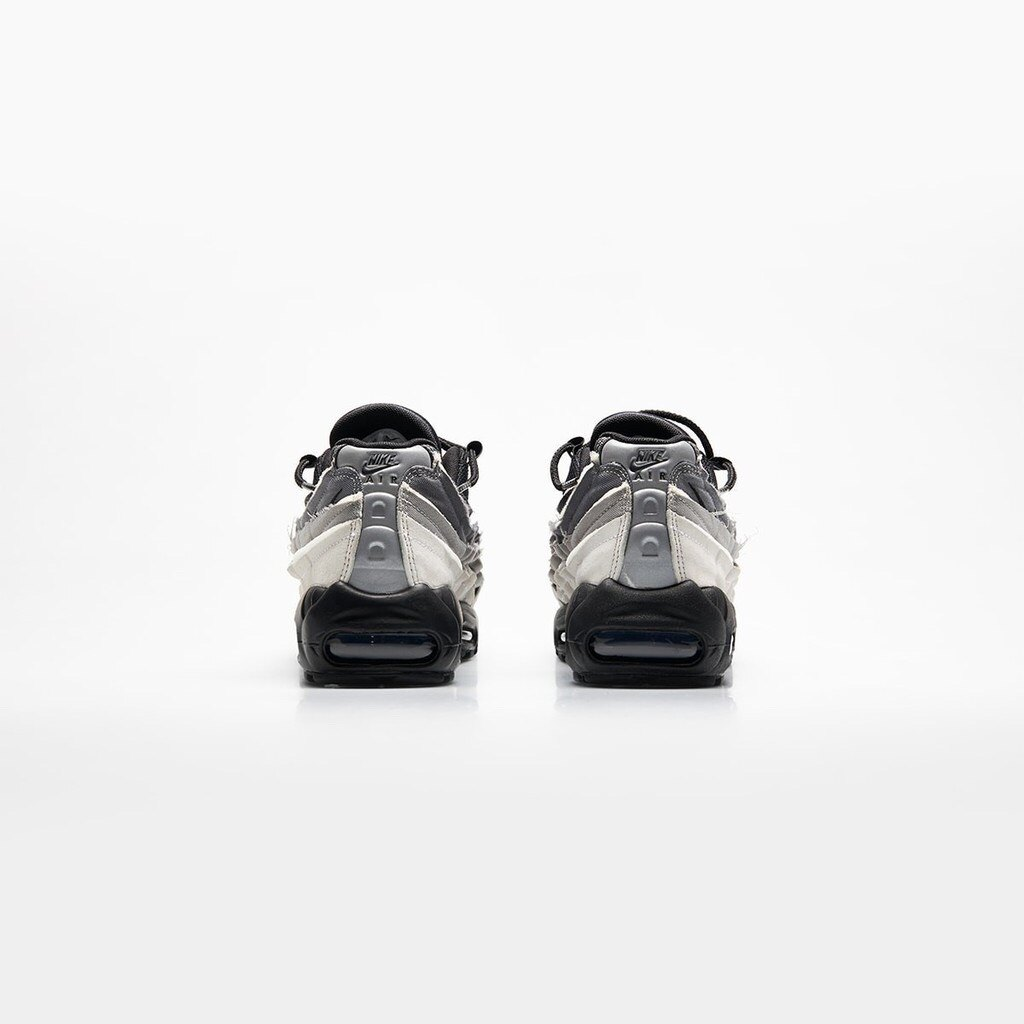 Kumo shoes-NIKE Air Max 95 X CDG 川久保玲 CU8406-101 黑白灰