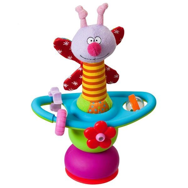 taf toys 感官發展系列-毛毛蟲餐椅益智玩具