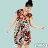 【Milida,全店七折免運】-夏季商品-拼貼款-氣質花苞版型洋裝 4