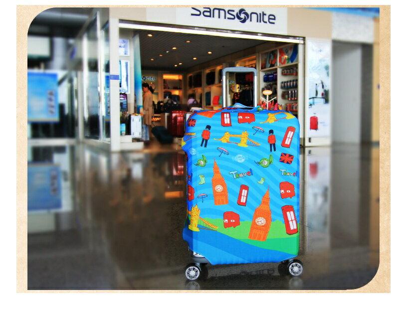英國元素行李箱套/行李套防塵/旅行箱防塵袋 旅行箱套防刮