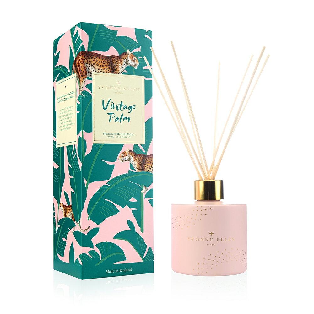 英國Wax Lyrical  動物饗宴YVONNE ELLEN 200ML香氛/擴香瓶-經典棕櫚 (獵豹)