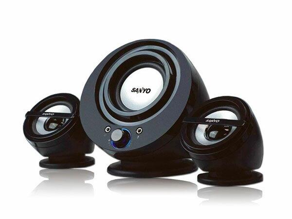 SANYO三洋聲之藝2.1聲道多媒體電腦喇叭