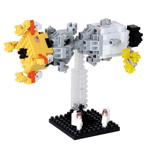 【Nanoblock 迷你積木】月球登陸器NBH-084
