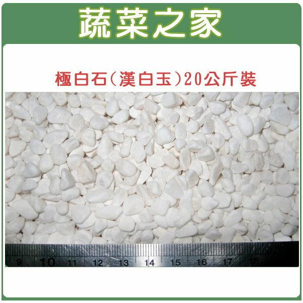 【蔬菜之家001-A47】極白石2分(漢白玉.特白石.鵝卵石.白卵石)20公斤裝