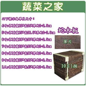 【蔬菜之家001-A92】8吋蛇木板單片裝