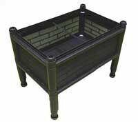 【蔬菜之家005-A08】單層加高DIY種植箱栽培箱//型號SS1