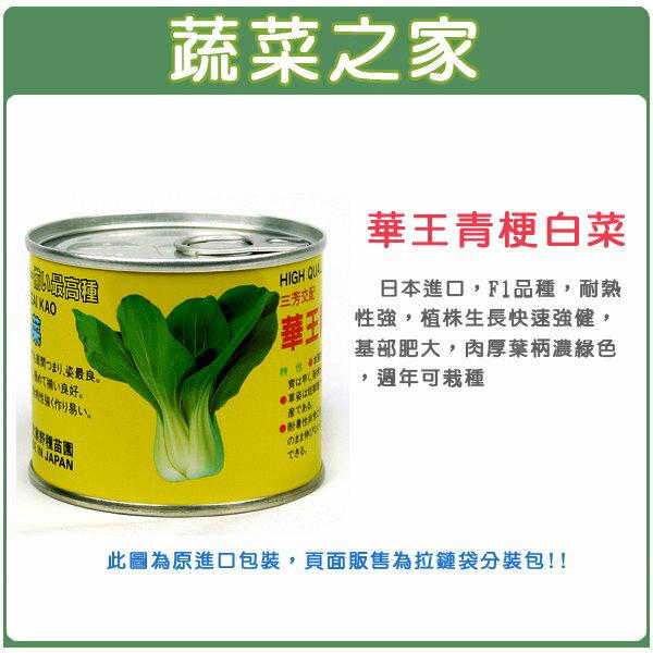 【蔬菜之家】A66.華王青梗白菜種子(共有2種包裝可選)