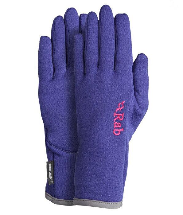【鄉野情戶外專業】Rab |英國| POWER STRETCH 保暖手套 女款/四向彈性/QAG-65