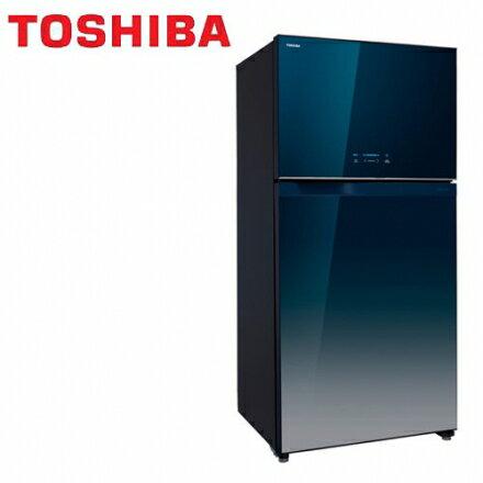 ★排面品★『TOSHIBA』☆東芝554公升變頻玻璃鏡面雙門電冰箱GR-WG58TDZ -GG **免費基本安裝**