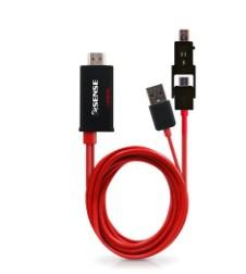 ~迪特軍3C~Esense MHL to HDMI MHL580 多媒體轉接器^(整合版^