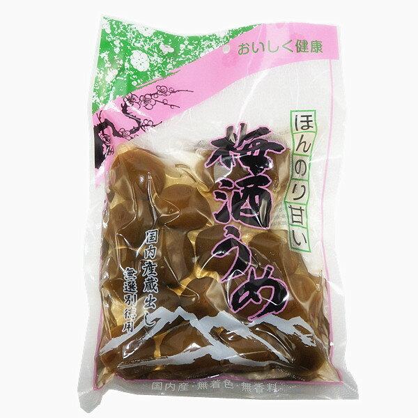 ~黑田食品~甘甜梅酒梅^(含汁^)^(260g^) 約16~18顆入 · ほんのり甘い 梅