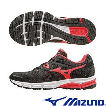 J1GF161860 (黑X紅)  MIZUNO SYNCHRO MD(W) 休閒款女慢跑鞋  A【美津濃MIZUNO】