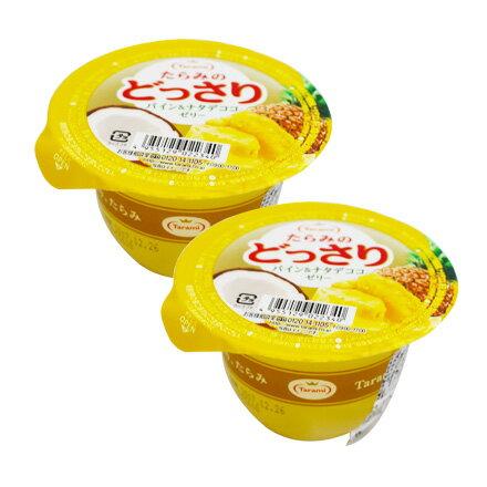 【敵富朗超巿】Tarami 達樂美果凍-鳳梨椰果 230g 有效日期:2017.12.26
