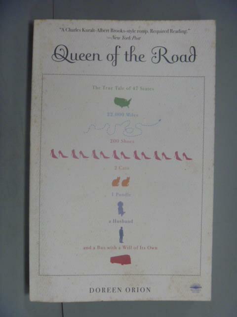 ~書寶 書T5/原文小說_LOA~Queen Of The Road_Orion Dore