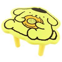 布丁狗周邊商品推薦到〔小禮堂〕布丁狗 造型木製矮凳椅《黃.甜甜圈》組裝式座椅
