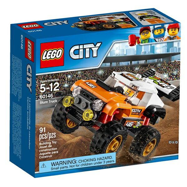 樂高積木LEGO《 LT60146 》2017 年 CITY 城市系列 - 特技卡車