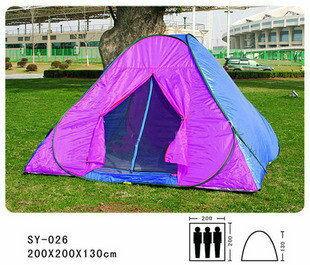 正品專賣 三人單層帳篷