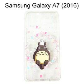龍貓透明軟殼 [花園] Samsung A710Y Galaxy A7 (2016) 宮崎駿