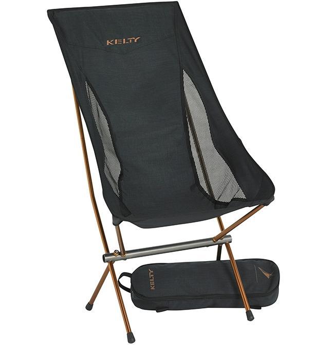 KELTY 輕量摺疊高背椅/露營椅/折疊椅 Linger High Back Chair 61510616HBK黑